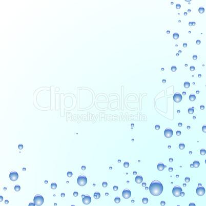 Wasserbläschen