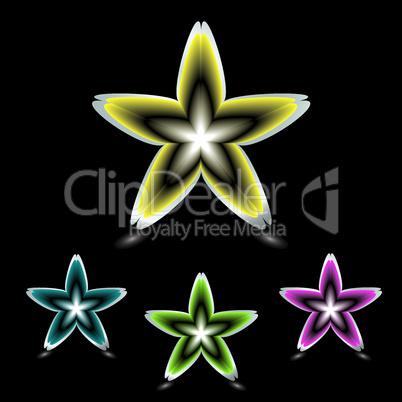 Sternförmige Blüten