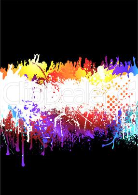 Farbkleckse