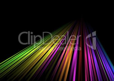 Regenbogen-Linien