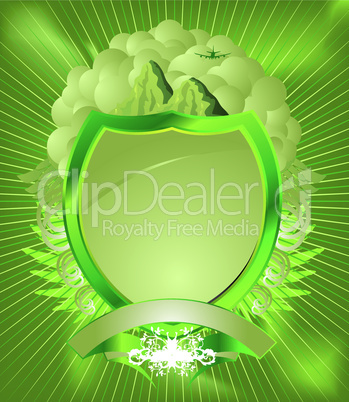 Grünes Wappen