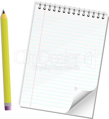 Block und Stift
