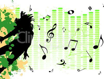 Verschmelzung mit Musik