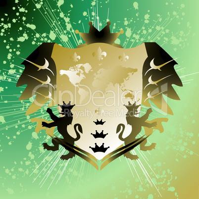 Königliches Wappen