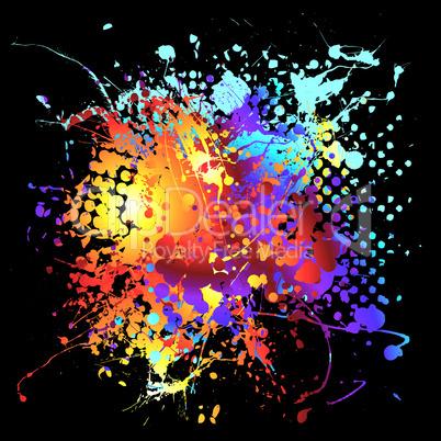 Tintenflecke