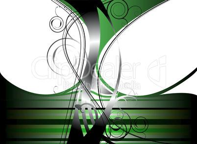 Grünes Durcheinander