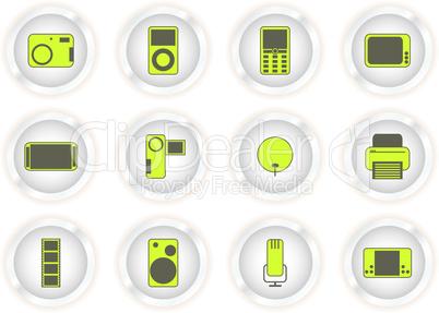 Technische Buttons