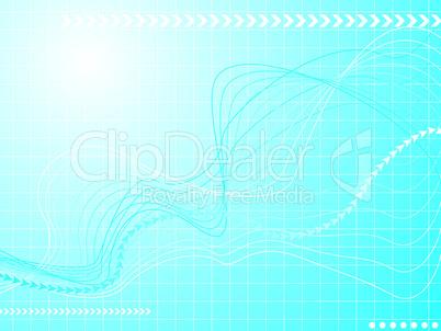 Grafische Welle