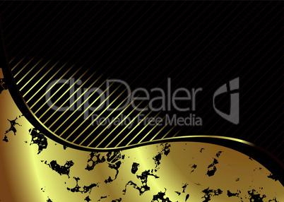 Goldenes Muster