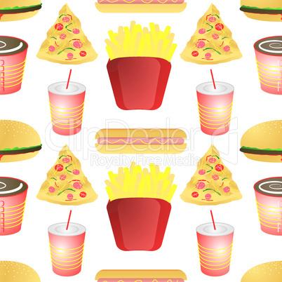 Fast Food Hintergrund