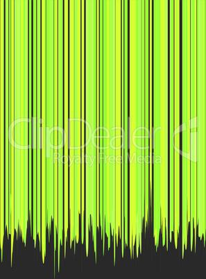 Gestreiftes Grün