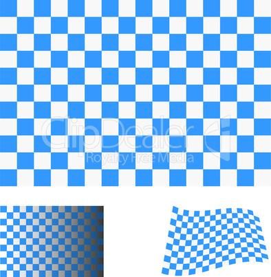 Blau-weiße Fahne