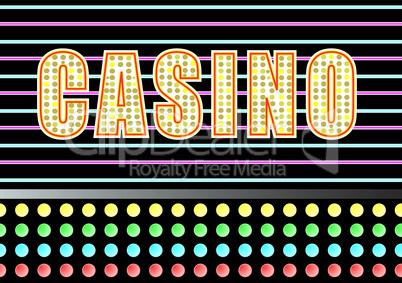 Casino - Schild