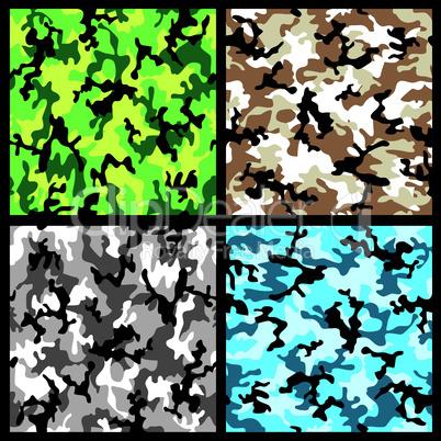 Camouflage Hintergrund