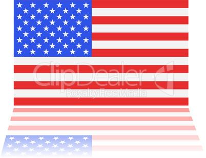 Amerikanische Fahne