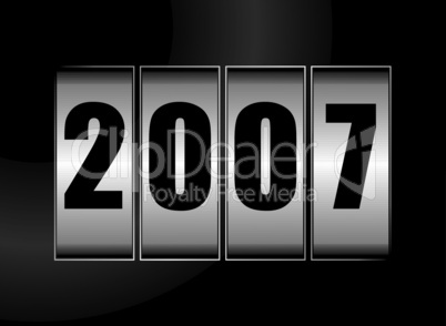 Jahreszahl 2007