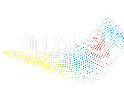 rainbow wave bend