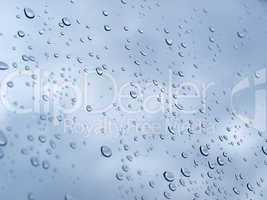 Rain droplets