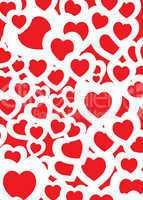 love background red