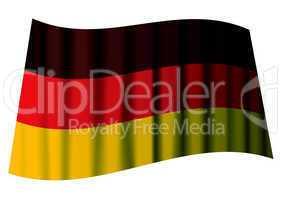 german flag ripple