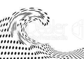 distorted wave