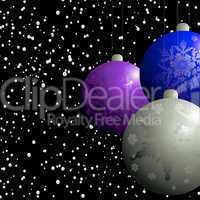 christmas balbels flurry