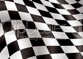 checkered flag bellow