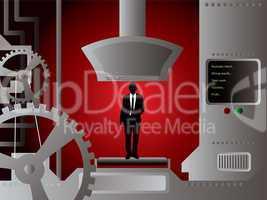 businessman production