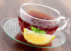 Tee mit Zitrone / tea with lemon