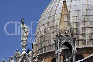 Venedig, Markusdom, Kuppel