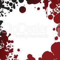 blood splash frame