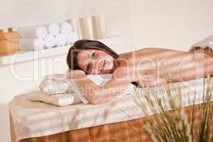 Spa - Young woman at wellness massage treatment