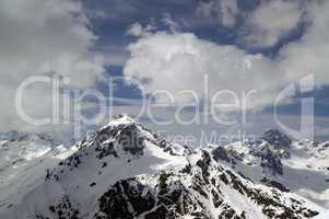 Caucasus Mountains. Dombay. Semenov Bashi
