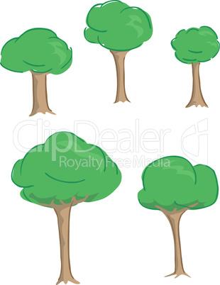 Cute Fluffy Trees
