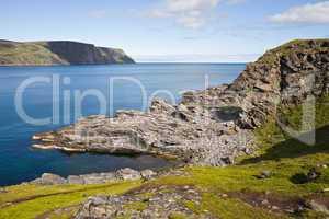 summer norwegian landscape