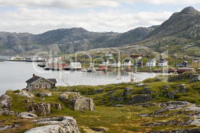 small norwegian village