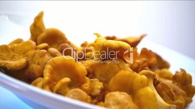 Chanterelle Turning Dish
