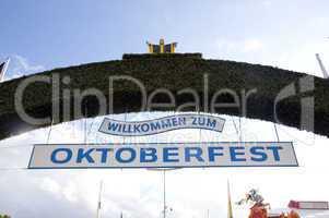 Eingang Oktoberfest