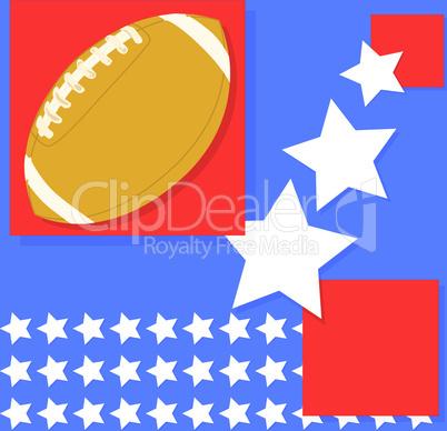 Football Flagge