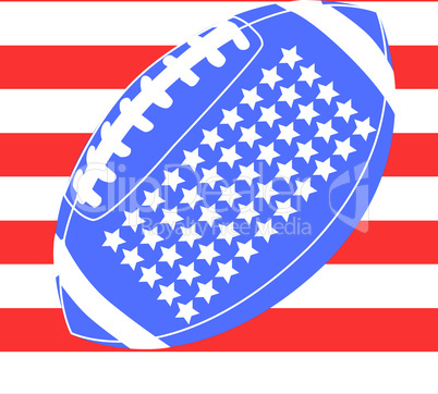 Stars & Stripes mit Football