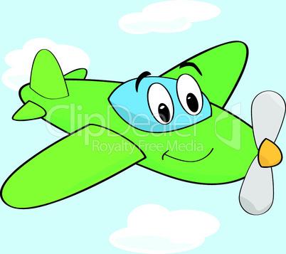 Lustiges Flugzeug