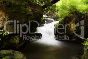 bach mit miniwasserfall