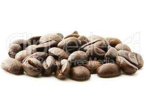 ein paar Kaffeebohnen