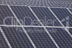 Detail von Solarzellen