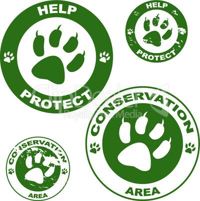 Tierschutz Logos