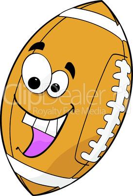 Football mit Gesicht