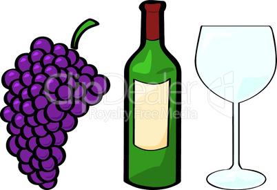 Wein, Traube, Glas