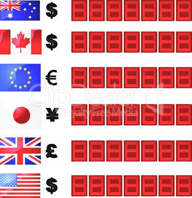 Währungstafel