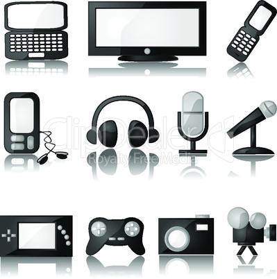Technik Symbole