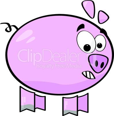 Witziges Schwein